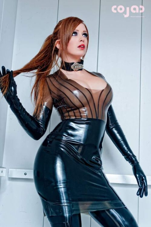 hypnose domina dirndl latex