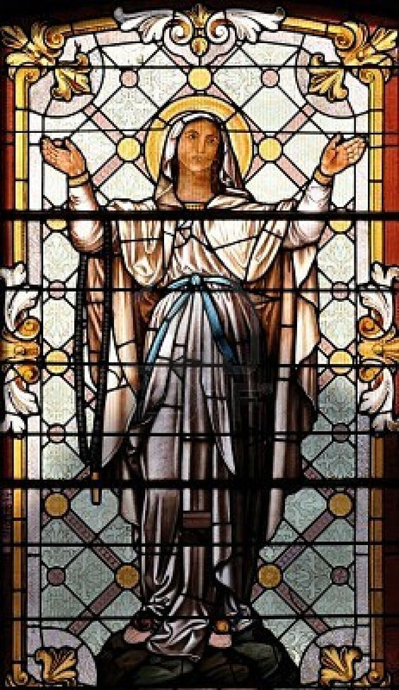 Mary - Stained Glass