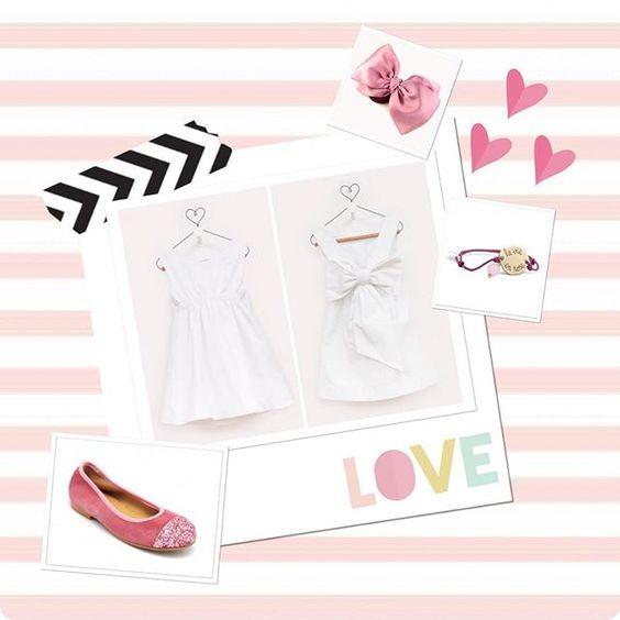 """Instagram @lashistorietasdemama: """"Cuando mi amiga @mjsarrion me propuso esta colaboración, no lo dude ni un instante. Un lujo estar hoy de invitada en #LaAlcobadeBlanca y traeros uno de mis looks preferidos para vestir a mis niñas este verano ¿Os gusta? (Enlace en la bio)  #modainfantil #modaverano2016 #fashionkids #instakids #instakidsfashion #fashionforkids #laalcobadeblanca #lashistorietasdemama #mamabloguera #mamasblogueras"""". Joya: Pulsera Charco"""