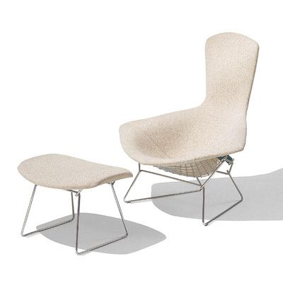 Knoll Bertoia Bird Chair with Full Cover mine – Bertoia Bird Chair Cover