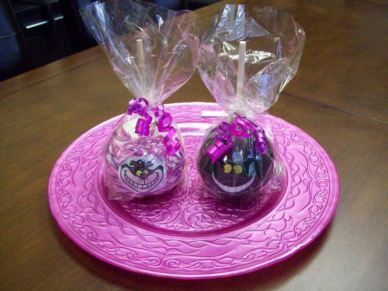 Love these...caramel apples, white or dark chocolate, with custom edible imaging