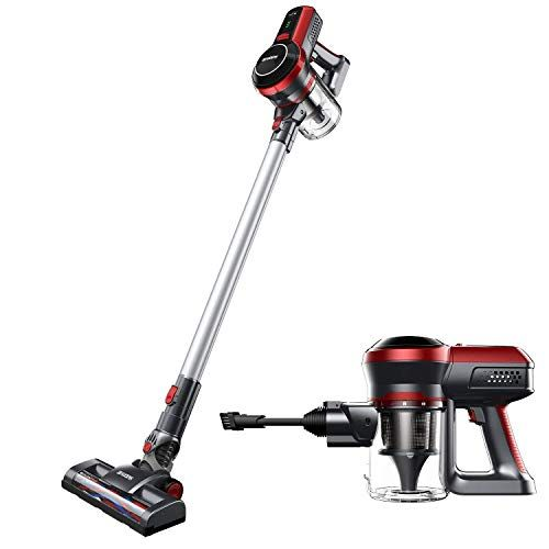 Cordless Vacuum Cleaner Upgraded Powerful 130w Motor Lightweight And Quiet 45 Minutes Long Runtime 2 In 1 Stick And Handheld Wall Mounted Cordless Vacuum Cordless Vacuum Cleaner Vacuums