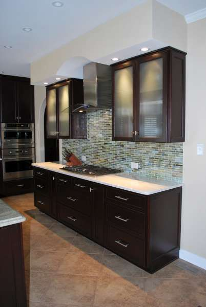 Perfect colors transitional kitchen cabinets with arched for Perfect color for kitchen