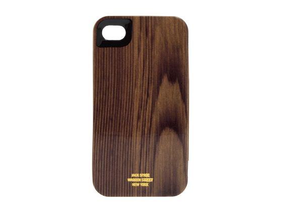 Woodgrain iPhone case