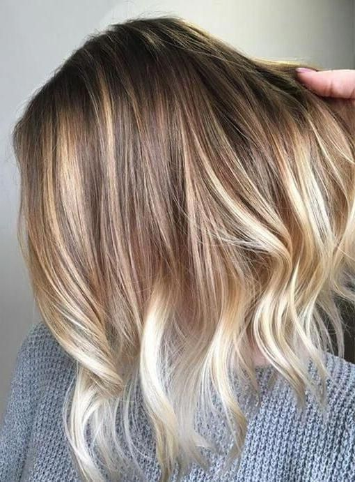20 Blonde Balayage Ideas For Short Straight Hair Regardless Of