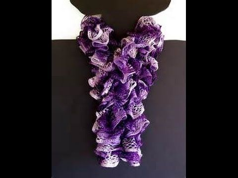 Free Crochet Pattern For Scarf Using Sashay Yarn ~ SquareOne for .