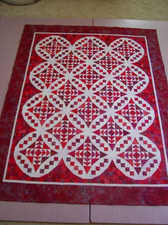Faceted Jewels quilt