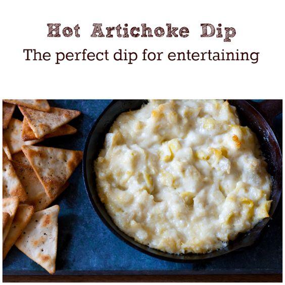 Hot artichoke dip, Artichoke dip and Artichokes on Pinterest