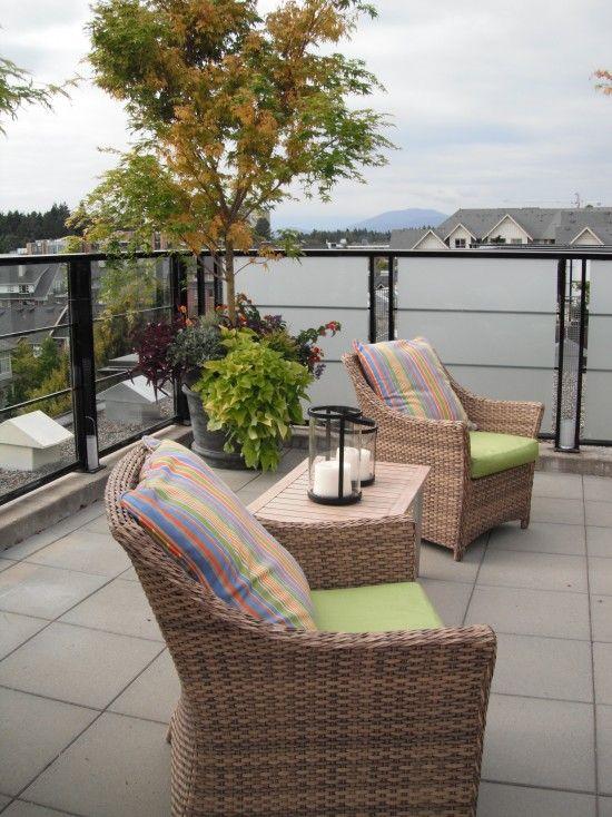 ROOFTOP GARDENS AND DECOR: Deck Ideas,  Terrace, Patios Decks, Exteriors Patios, Glass Deck, Rooftop Deck, House Patios Gardens Seating