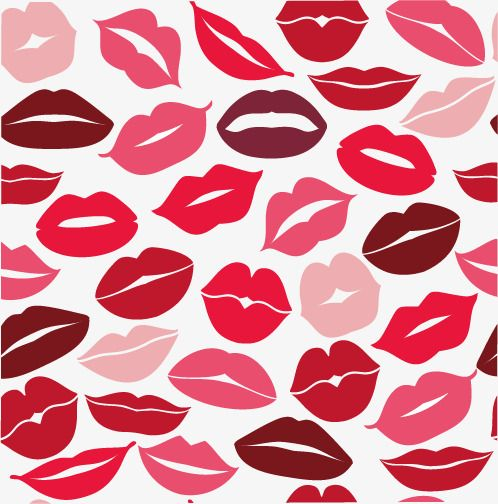 Woman Kissing Lips Painted Red Vector Lips Kiss Red Png And