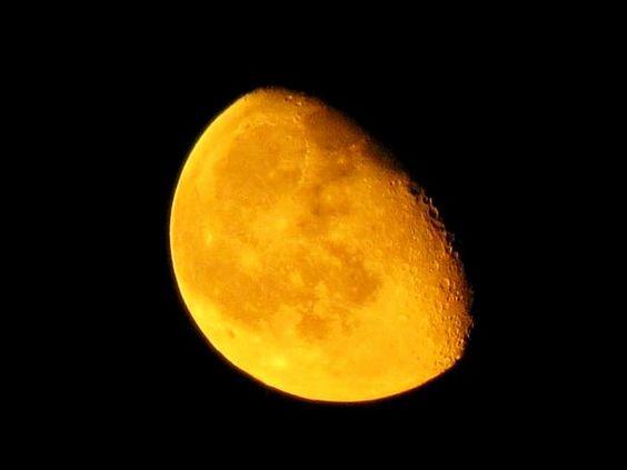 #photography #moon #closeup #orange #yellow #florida