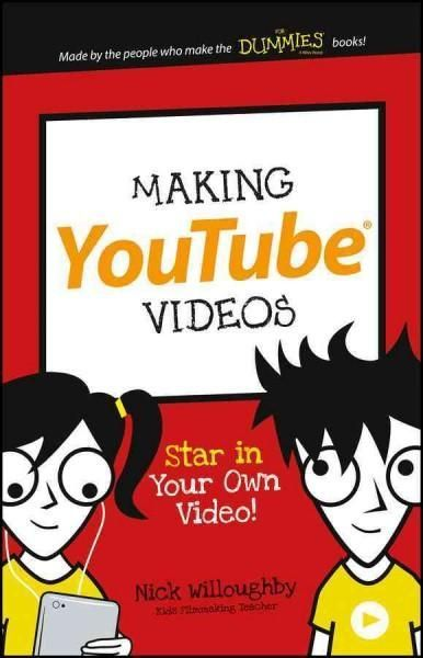 A digital arts book for kids! Are you the next YouTube celebrity in the making? This book shows how to make videos you can share online. Shoot with a phone or camera, edit your clips and add effects,