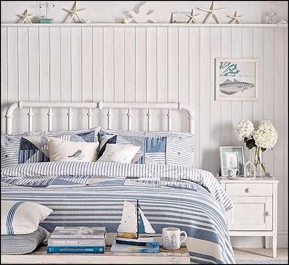 coastal style bedroom