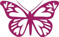 תוצאת תמונה עבור butterfly silhouette