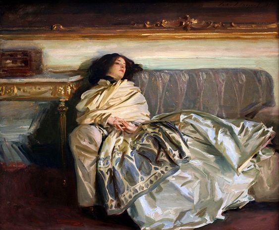Nonchaloir (Repose), by John Singer Sargent