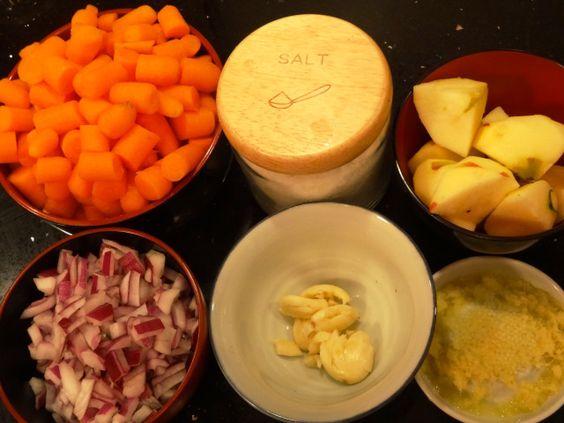 Carrot, Apple & Ginger Soup