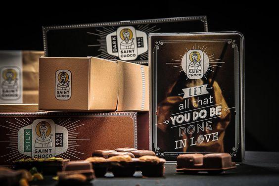 Saint Choco — The Dieline - Branding & Packaging