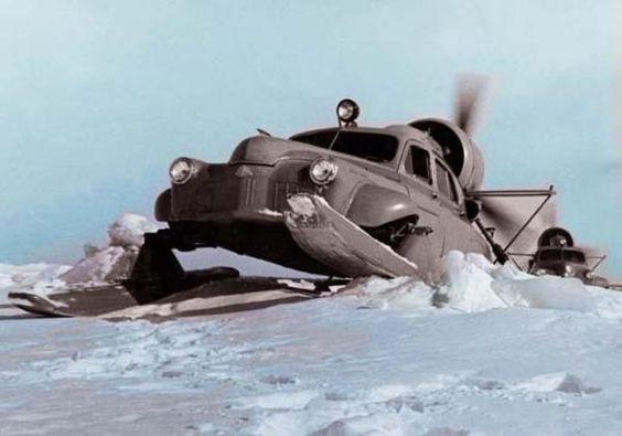 Motoneiges soviétiques insolites - http://www.2tout2rien.fr/motoneige-sovietiques-insolites/