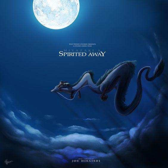 Spirited Away Custom CD Cover by lord-phillock on DeviantArt