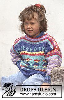 Modelos em tricô e croché gratuitos da DROPS Design