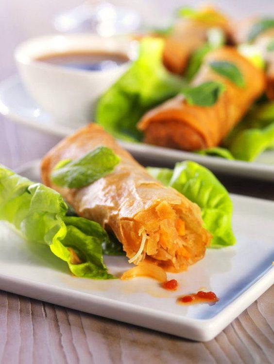Crispy Vegetable Spring Roll Recipe | cleveland.com