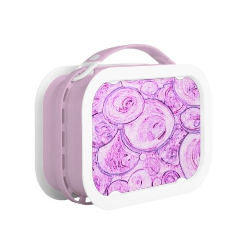 Pink Color My World Lunchbox Custom Design from Touch of the Wind by Janz