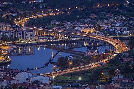 Río Lérez a su paso por Pontevedra desde A Caeira. Pontevedra, España - Pablo Avanzini