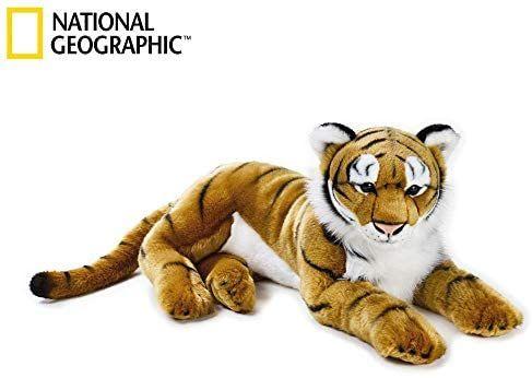 Tigre Grande Ngs National Geographic Amarelo Amazon Com Br Brinquedos E Jogos Animais Habitat America Do Norte
