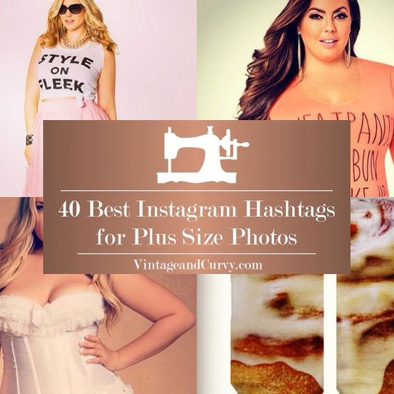 Hey there curvy girls! So today I was tasked with making a list of Instagram hashtags for plus size photos and it got me thinking. What hashtags do other plus size women use when trying to bring attention to their fashion photos? Check out my list and let me know if you think I missed any! Much love! Emma  http://ift.tt/1OWmoU2. #plussize #plussizefashion #plussizeboutique #psblogger #fashion #fashionblogger #shop #style #vintageandcurvy #chic #curvygirls by vintageandcurvy
