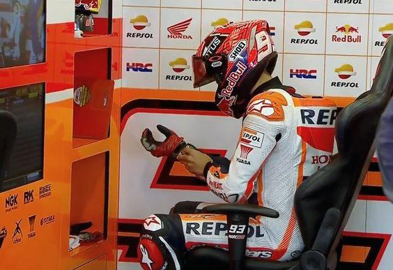 British GP FP1 - Marc Marquez