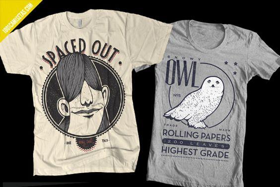 Camisetas de estilo vintage