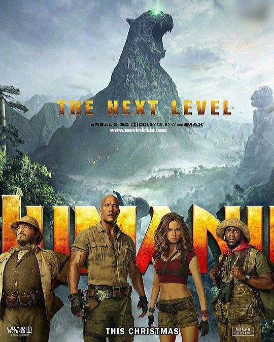 Jumanji The Next Level 2019 In 2020 English Movies Welcome To The Jungle Free Movies Online