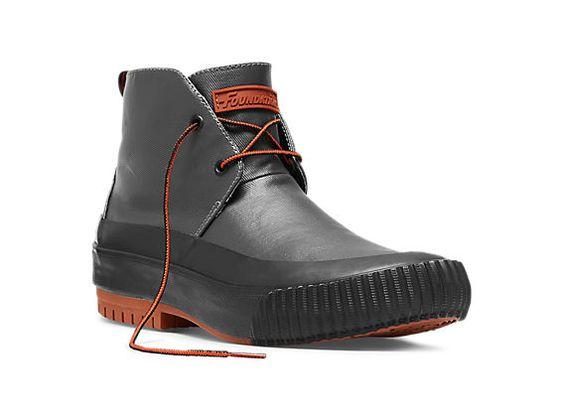 Hi Pres rain boots (Grey) - by PF Flyer