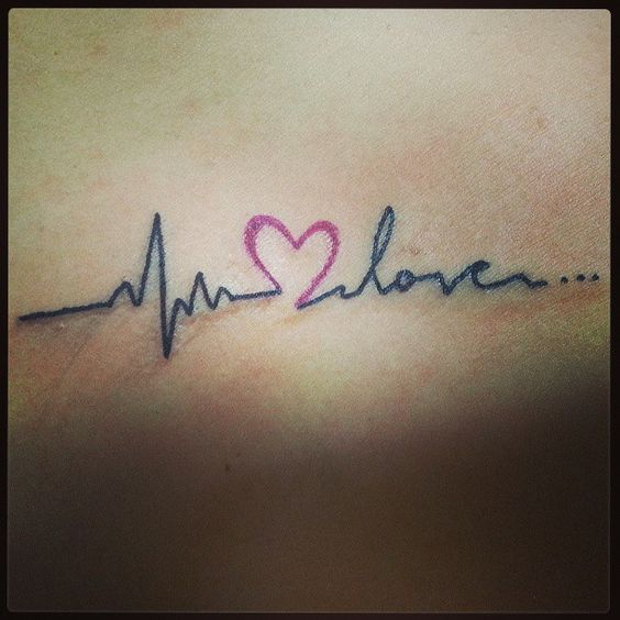 S Name Love Images Herzschlag-tattoos, He...