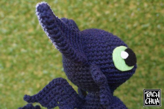 Toothless amigurumi pattern | Crochet toothless, Crochet patterns ... | 373x560