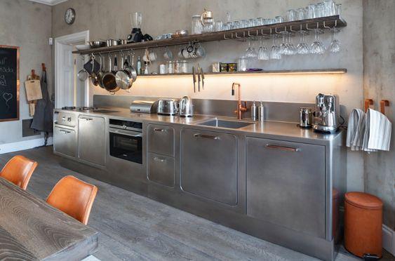 ステンレス キッチン I型 イメージ