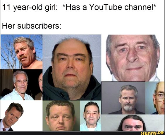 11 Year Old Girl Has A Youtube Channel Her Subscribers Ifunny Old Girl Youtube Youtube Memes
