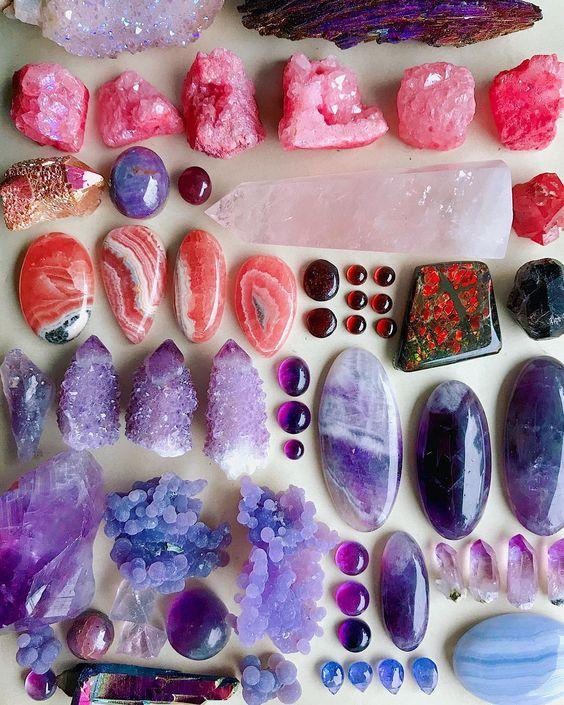 Pink & purple treasures ✨💜💕