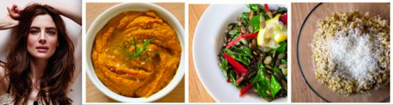 Ever tried roasted sweet potato hummus and barley risotto? So healthy ...