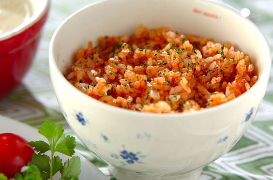 サッパリトマトライスのレシピ・作り方 - 簡単プロの料理レシピ | E・レシピ