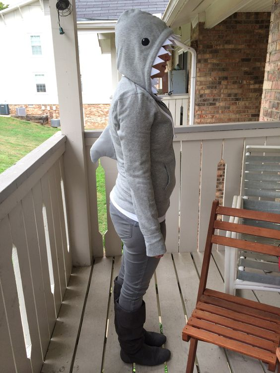 shark costume diy - Buscar con Google