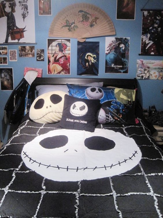 best nightmare before christmas room decor boy rooms