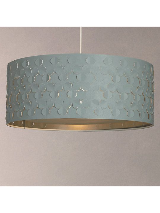John Lewis Partners Clara Large Easy To Fit Diffuser Ceiling Shade Grey Ceiling Shades Ceiling Lamp Shades