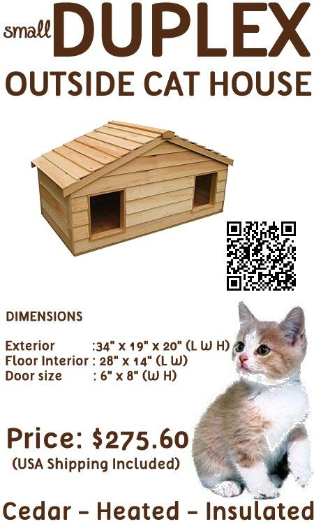 Outside Cat House Outdoor Cat Houses And Cat Houses On