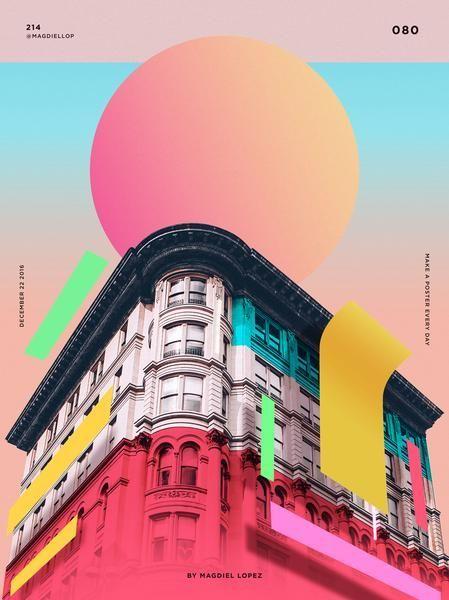 Poster Design Everyday In 2020 Graphic Design Trends Graphic Design Posters Graphic Poster