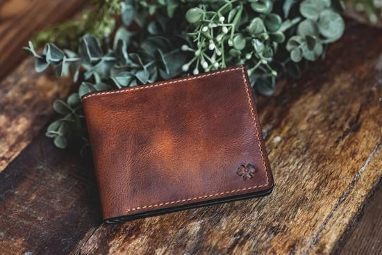 Bifold Leather Wallet For Men Made In Usa Mens Bifold Wallets American Mad Cashback Rebates Bifold Wallet Men Leather Wallet Mens Wallet Men