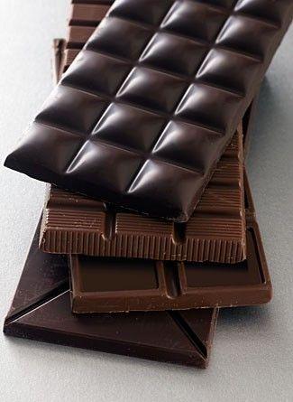 chocolat en tablettes: