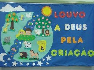 """Ensino religioso: """"A criação do mundo"""" - sugestões e idéias! - ESPAÇO EDUCAR"""