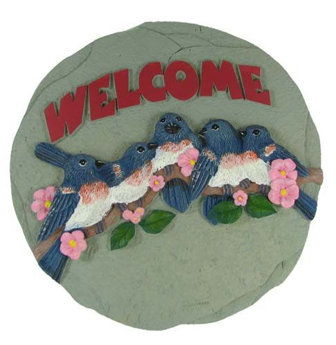 Welcome Birds Stepping Stone