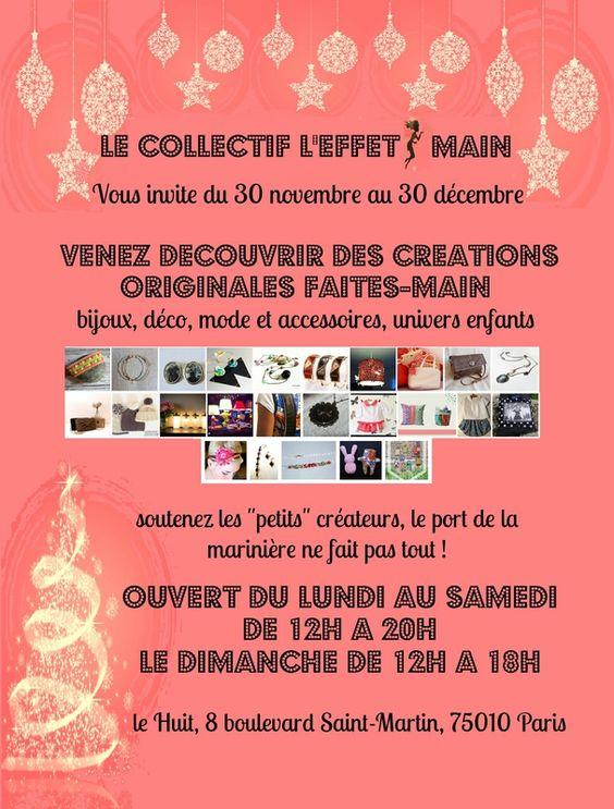 affiche boutique éphémère décembre2013